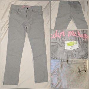 Girls Polka Dot Skinny Jeans